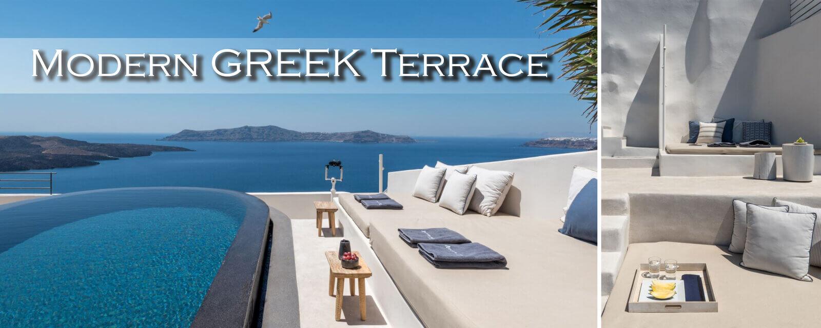 Modern Greek Terrace