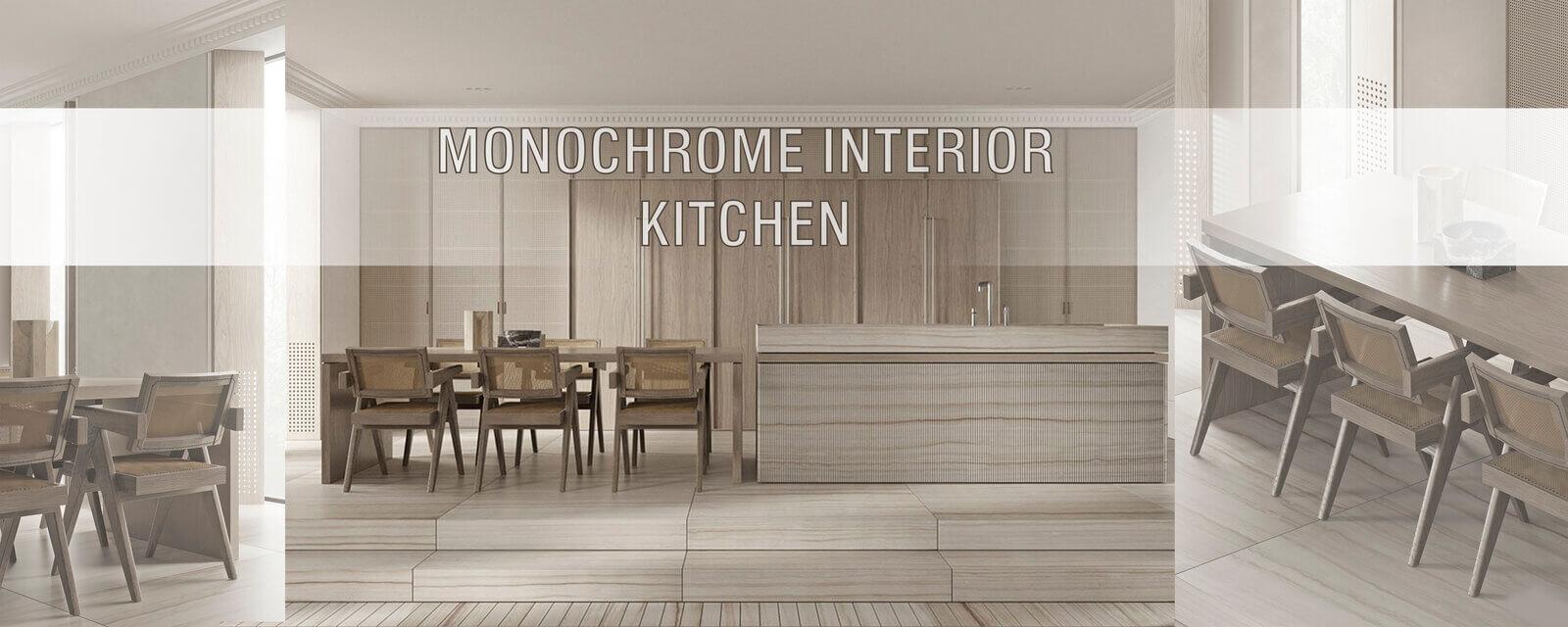 Monochrome Interior | Kitchen