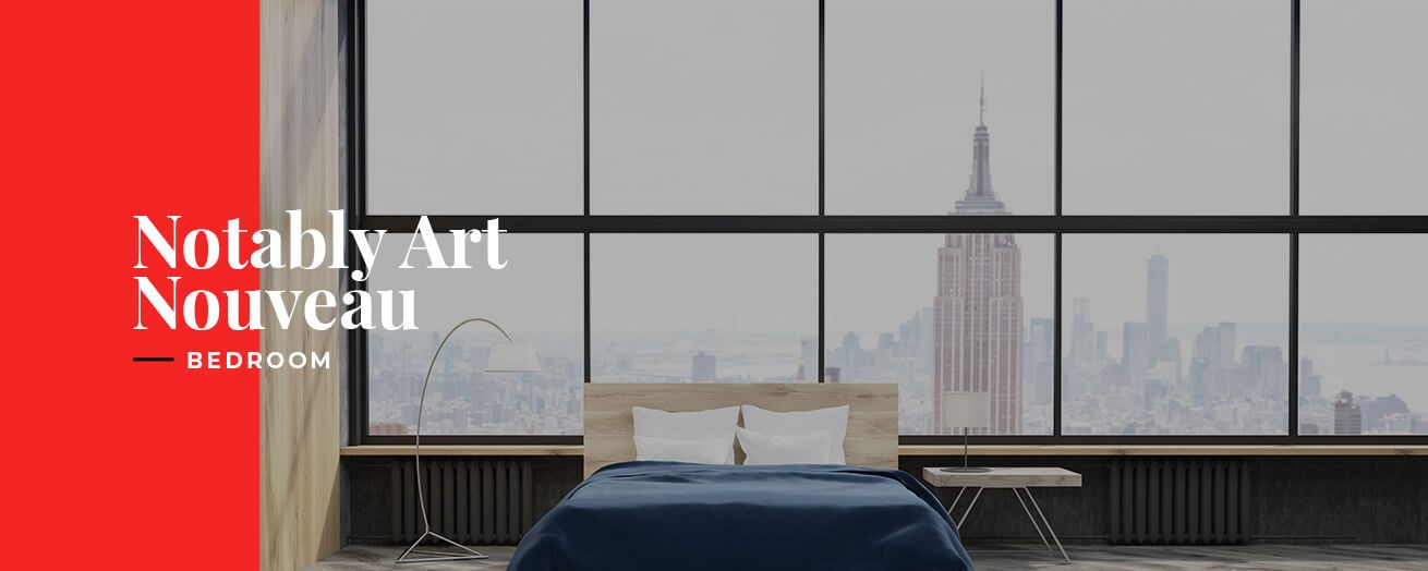 Notably Art Nouveau | Bedroom