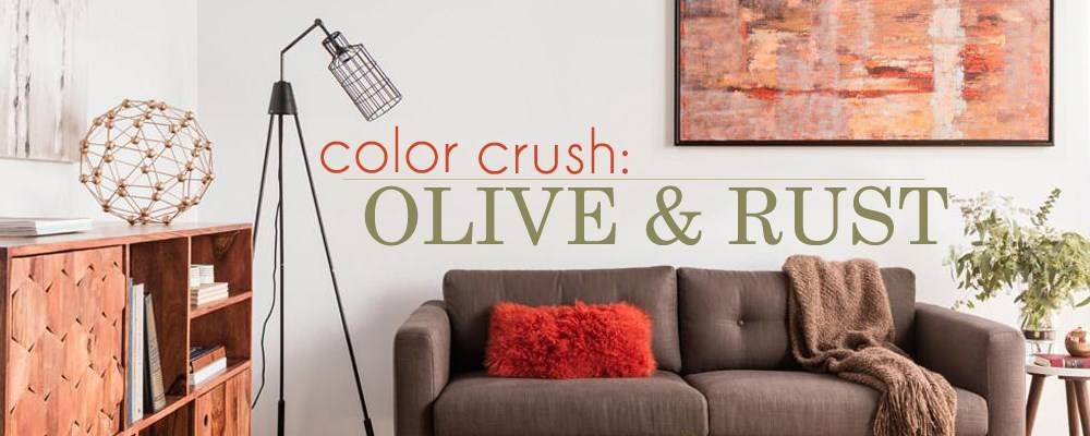 Color Crush: Olive and Rust