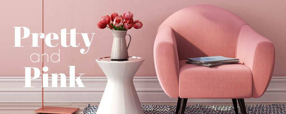 Pink Furniture and Pink Decor | LuxeDecor
