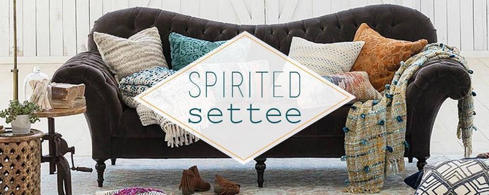 Spirited Settee