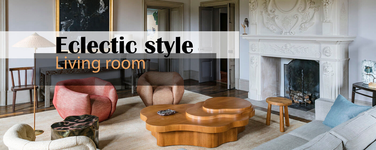 Eclectic Style | Living Room