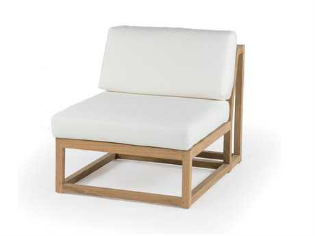 Caluco Cozy Shadow Teak Lounge Chair