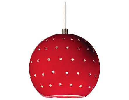 A19 Lighting Studio Lunar Matador Red Mini-Pendant
