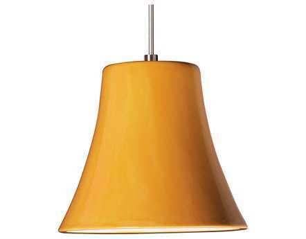 A19 Lighting Studio Bella Sunflower Yellow Mini-Pendant Without Canopy