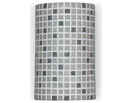 A19 Lighting Mosaic Confetti gray Wall Sconce