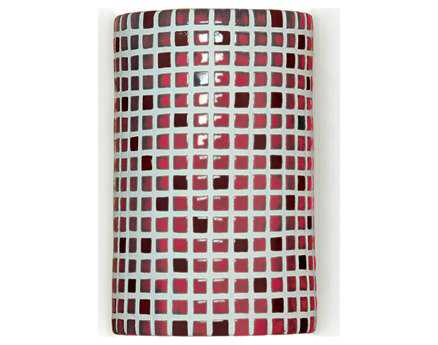 A19 Lighting Mosaic Confetti Matador Red Wall Sconce