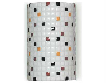A19 Lighting Mosaic Confetti Multicolor Wall Sconce