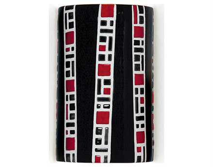 A19 Lighting Mosaic Ladders Black Wall Sconce