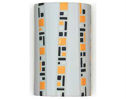 A19 Lighting Mosaic Ladders White Wall Sconce