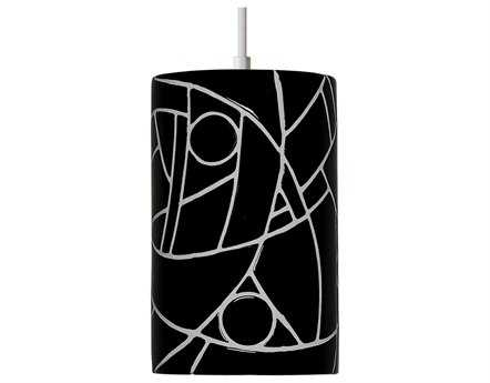 A19 Lighting Mosaic Picasso Black Pendant