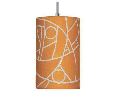 A19 Lighting Mosaic Picasso Sunflower Yellow Pendant