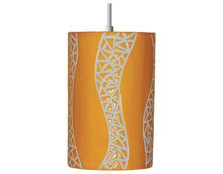 A19 Lighting Mosaic Passage Sunflower Yellow Pendant