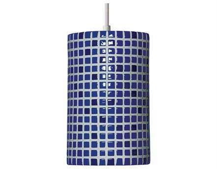 A19 Lighting Mosaic Confetti Cobalt Blue Pendant
