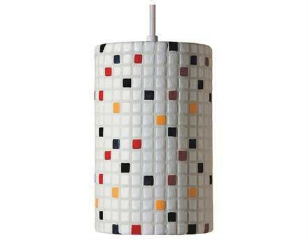 A19 Lighting Mosaic Confetti Multicolor Pendant