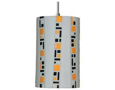 A19 Lighting Mosaic Ladders White Pendant