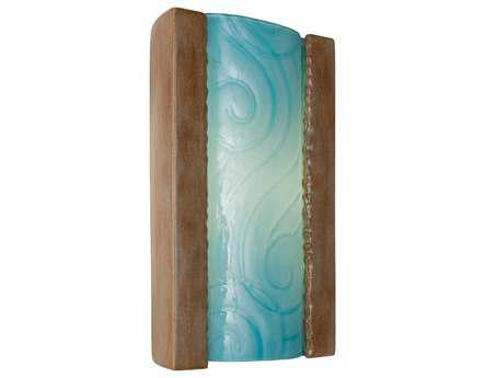 A19 Lighting reFusion Clouds Spice & Turquoise Wall Sconce