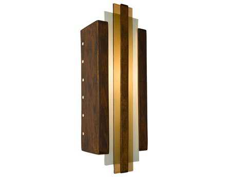 A19 Lighting reFusion Empire Butternut & Caramel Wall Sconce
