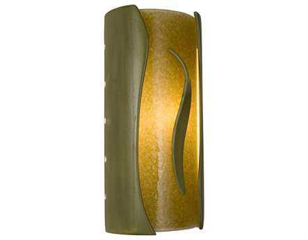 A19 Lighting reFusion Flare Sagebrush & Moss Wall Sconce
