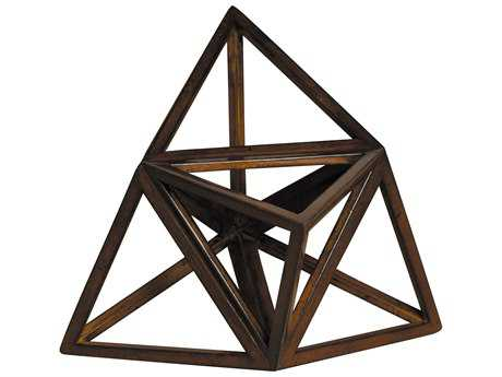 Authentic Models Museum Elevated Tetrahedron (Sold in Set of Two)