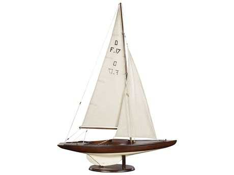 Authentic Models Nautical French Finish Dragon Olympic Sail Racer