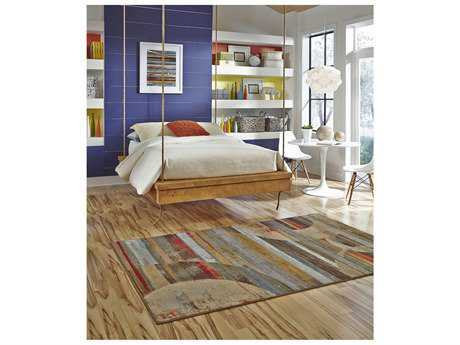 American Rug Craftsmen Concord Integrated Geo Light Rectangular Area Rug