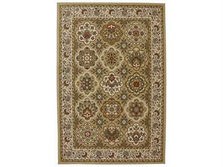 American Rug Craftsmen Symphony Copperhill Rectangular Brown Area Rug