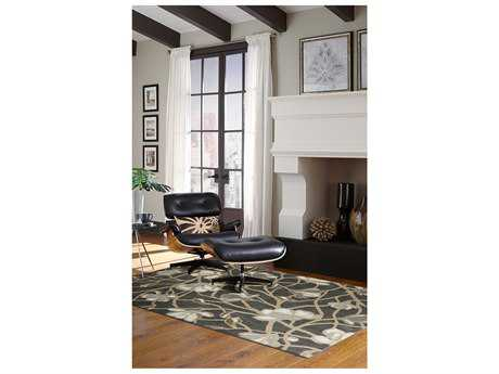 American Rug Craftsmen Bob Timberlake Reflections Carolina Abyss Blue Rectangular Area Rug