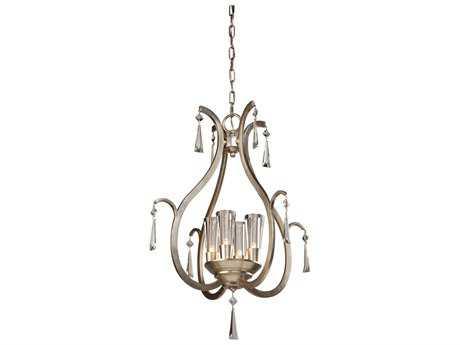 Artcraft Lighting Madison Silver Leaf Four-Light 22'' Wide Chandelier