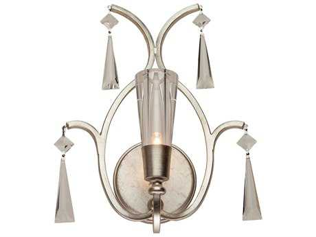 Artcraft Lighting Madison Silver Leaf Wall Sconce