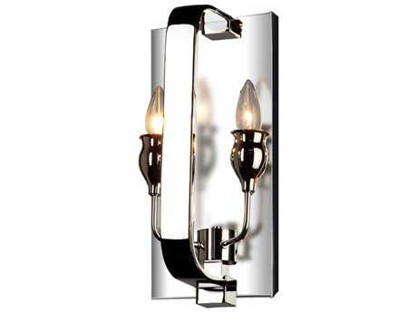 Artcraft Lighting Gagetown Chrome Two-Light Wall Sconce
