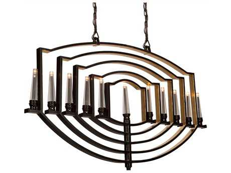Artcraft Lighting Perceptions Oil Rubbed Bronze 11-Light 48'' Wide Island Light