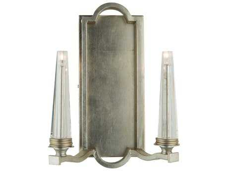 Artcraft Lighting Perceptions Silver Leaf Two-Light Wall Sconce