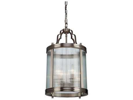 Artcraft Lighting Bankroft Brushed Nickel Four-Light Pendant