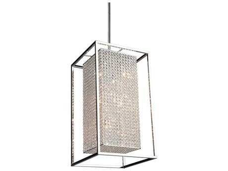 Artcraft Lighting Vega Stainless Steel Ten-Light Pendant Light