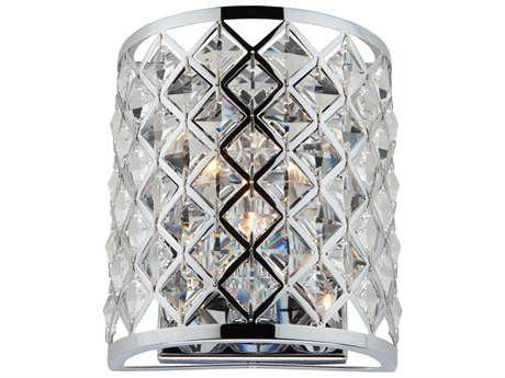 Artcraft Lighting Lattice Chrome Wall Sconce