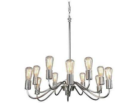 Artcraft Lighting Jasper Park Brushed Nickel Four-Light 18.5'' Wide Chandelier