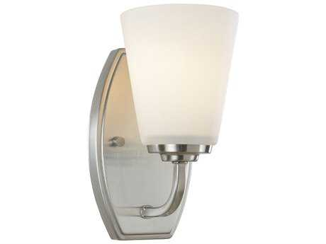 Artcraft Lighting Hudson Brushed Nickel 4.5'' Wide Wall Sconce