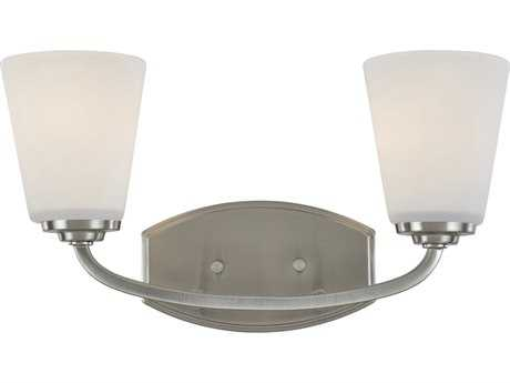 Artcraft Lighting Hudson Brushed Nickel Two-Light Wall Sconce