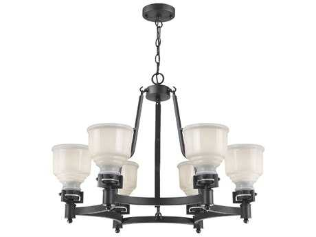 Artcraft Lighting Franklin Six-Light 30.5'' Wide Chandelier