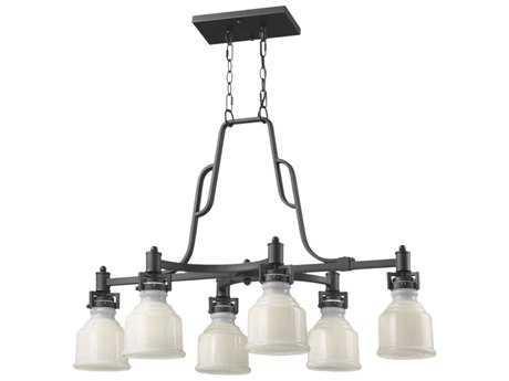 Artcraft Lighting Franklin Six-Light 20'' Wide Island Light