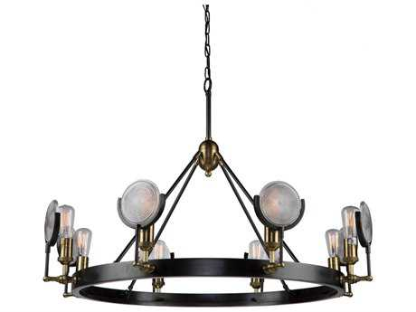 Artcraft Lighting Baker Street Eight-Light 42.75'' Wide Grand Chandelier