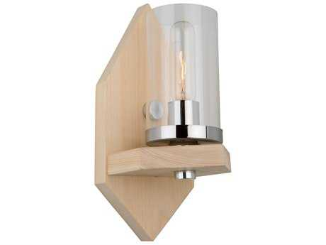 Artcraft Lighting Canyon Creek Authentic Pine Wall Sconce