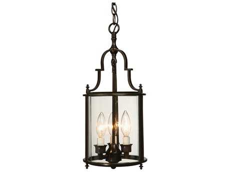Artcraft Lighting Manor Dark Bronze Three-Light 8'' Wide Mini Chandelier