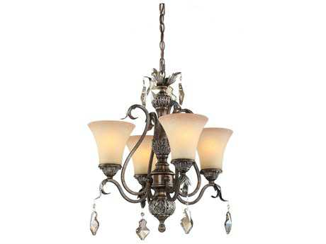Artcraft Lighting Vienna Bronze Four-Light 20'' Wide Chandelier