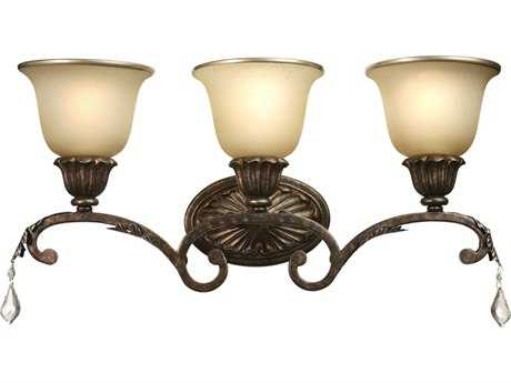 Artcraft Lighting Florence Bronze Three-Light Wall Sconce