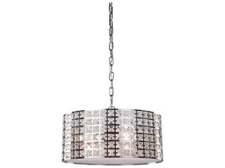 Artcraft Lighting Coventry Chrome Three-Light Pendant Light