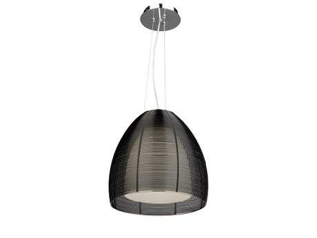 Artcraft Lighting San Jose Black & Metal Wire Pendant Light