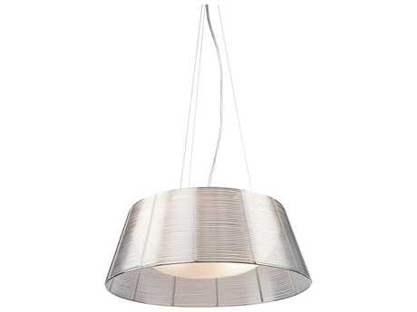 Artcraft Lighting San Jose Silver & Metal Three-Light Pendant Light